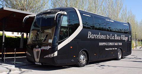 La Roca Village Shopping Express ab Barcelona