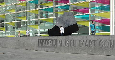 Museum f�r zeitgen�ssische Kunst in Barcelona - MACBA