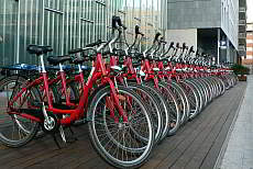 Bike hire in Barcelona