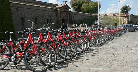 Rent a bike in Barcelona