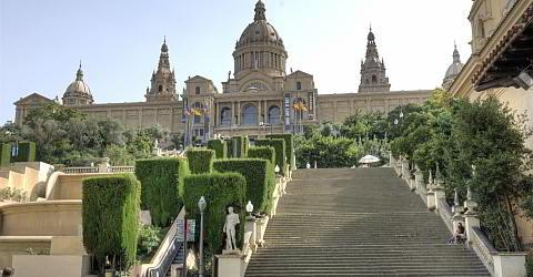Museu National Art de Catalunya (MNAC) in Barcelona