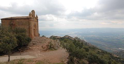 The world famous Montserrat