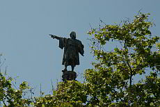 Columbus statue - best view on the rambla