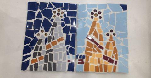 Mosaikkurse in Barcelona