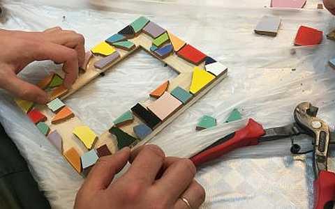 Mosaikkurse für Jung und Alt