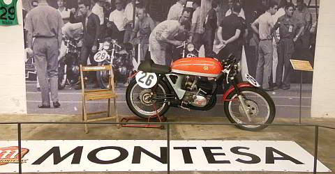 Moto Montesa Barcelona im Museu Moto