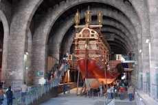 Bildergalerie des Museu Marítim, des Schifffahrtsmuseums in Barcelona