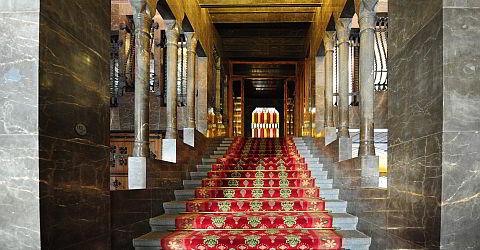 Im Inneren des Palau Güell