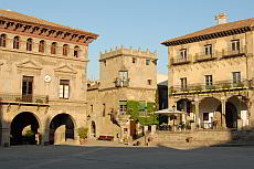 Poble Espanyol - the Spanish village and huge open air museum