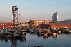 Port Vell - the old harbour of Barcelona