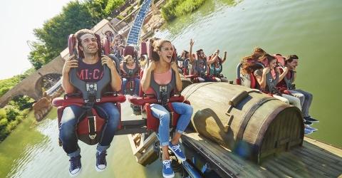 Amusement park PortAventura ticket and transfer