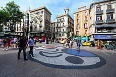 La Rambla, Barcelonas berühmte Flaniermeile
