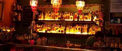 The El Bombón Bar Restaurant has an extensive cocktail menu