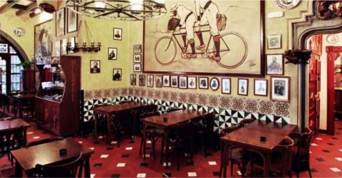 Restaurant Gats Barcelona : Els quatre gats