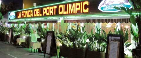 The La Fonda del Port Olímpic is one of the most popular restaurants in the Olympic Port