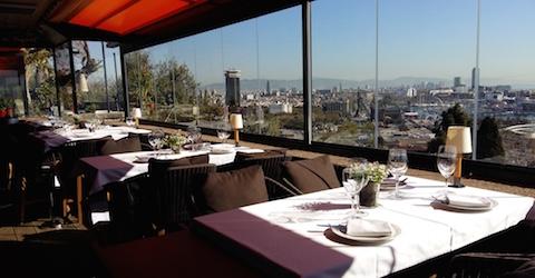 Ausblick auf die Innenstadt Barcelonas