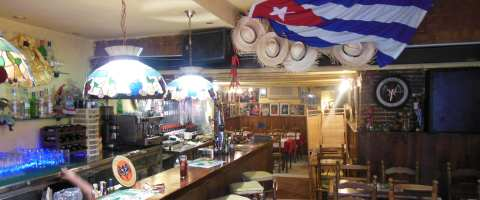 La Paladar del Son, Cuban dishes and cocktails. Live music on Sundays