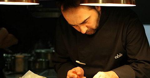 Chefkoch Xavier Franco ist im Restaurant Saüc
