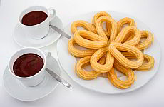 Recipe for Churros - fried moulded