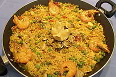 Recipe of a Catalan Paella