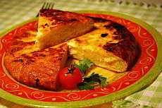 Recipe of tortilla de patatas - omelette with potatoes