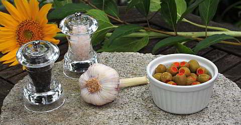 Rezept für gefüllte Oliven