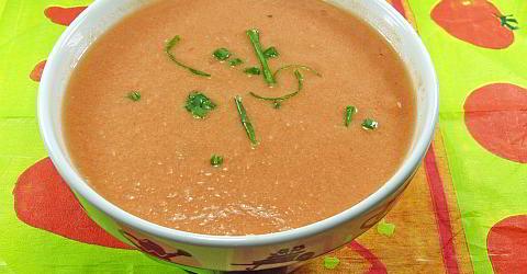Gazpacho - kalte Gemüsesuppe