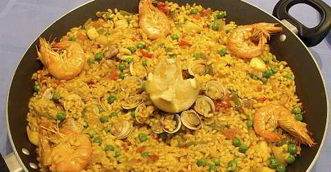 Catalan paella recipe