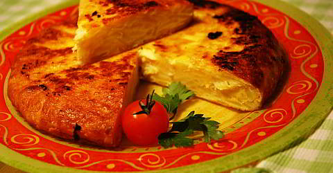 Recipe tortilla de patatas