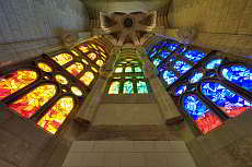 Rosary chapel, crypt, apse, cloister of the Sagrada Familia