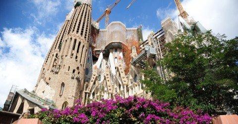 Die wichtigste Sehensw�rdigkeit Barcelonas: Sagrada Familia
