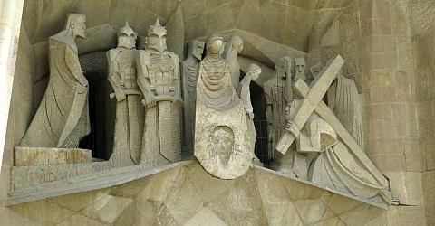 Deutschsprachige Sagrada Familia Fassadenführung mit Eintritt ohne Anstehen