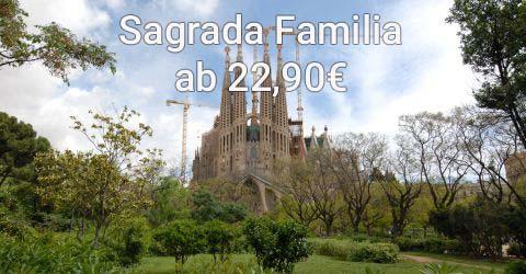Erkunden Sie Barcelonas größtes Wahrzeichen, die Sagrada Familia