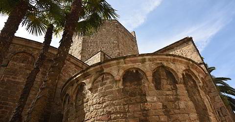 Das Kloster Sant Pau von außen