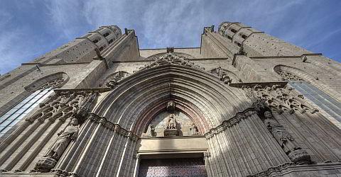 The portal of Santa Maria del Mar
