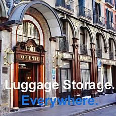 An vielen Orten in der Stadt: Stasher Gepäck-Aufbewahrung