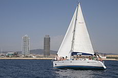 Exclusive Sailing Trip alongside the Barcelona Skyline (yacht charter)