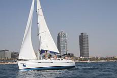 Buchen Sie hier die Segelyacht Beneteau Oceanis mit Skipper