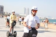 Segway Touren in Barcelona und am Strand