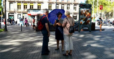 Treffpunkt am Plaça Urquinaona