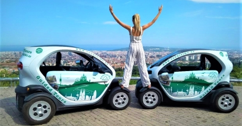 Views on the Barcelona Twizy Sightseeing Tour