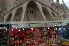 Fira de Nadal at the Sagrada Familia